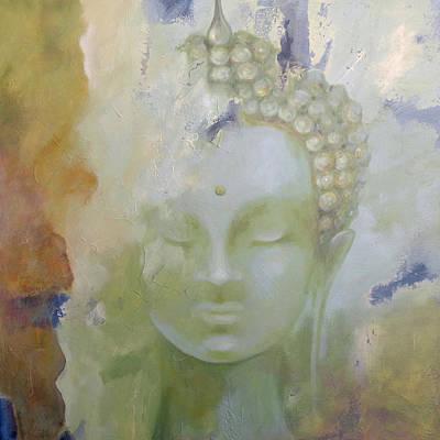 Painting - Sage Buddha by Dina Dargo