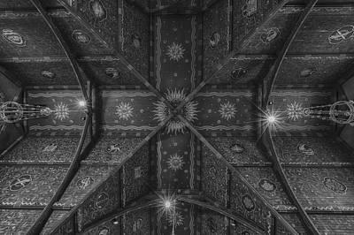 Sage Chapel Ceiling #3 - Cornell University Art Print by Stephen Stookey