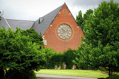 Sage Chapel Cornell University Ithaca New York 02 Art Print by Thomas Woolworth