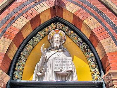 Sage Chapel Front Entrance Art Print