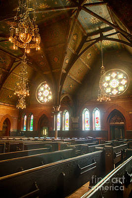 Finger Lakes Photograph - Sage Chapel I by Michele Steffey