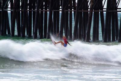 Photograph - Sage Erickson In Motion by Waterdancer
