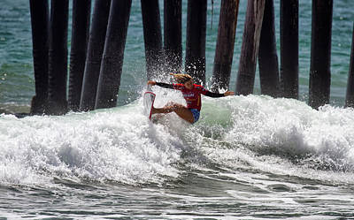 Photograph - Sage Erickson Off The Lip by Waterdancer