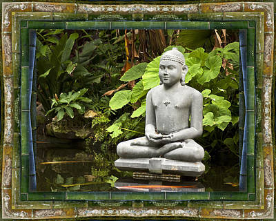 Contemplative Photograph - Sage Of Peace by Bell And Todd