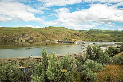 Photograph - Sagebrush And Wells Dam by Tom Cochran
