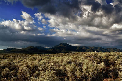 Photograph - Sagebrush Before Sangre De Cristo Mountains by Robert Woodward