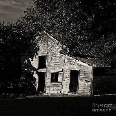 Photograph - Sagging Barn by Patrick M Lynch