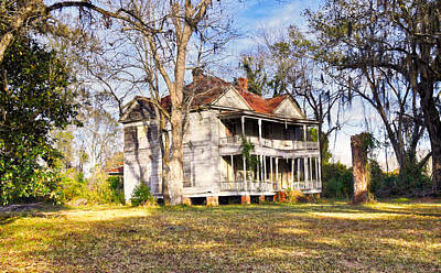 Photograph - Sagging Porches by Linda Brown
