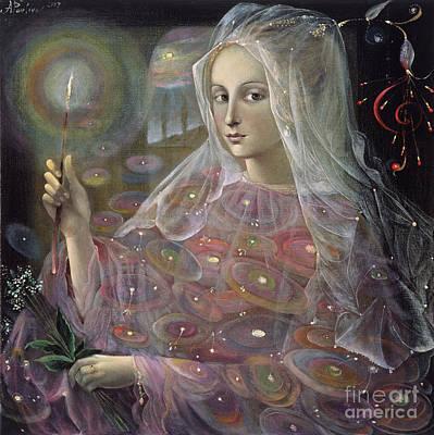 Astrology Sign Painting - Sagittarius by Annael Anelia Pavlova