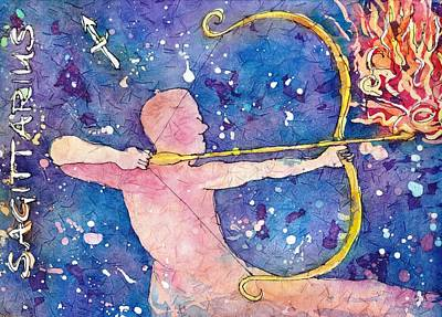 Painting - Sagittarius by Ruth Kamenev