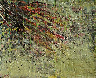 Abstract Montage Painting - Sago No. 42 by Sago Art