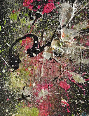 Abstract Montage Painting - Sago No. 44 by Sago Art
