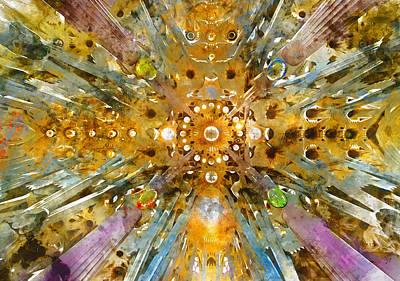 Painting - Sagrada Familia - 14 by Andrea Mazzocchetti
