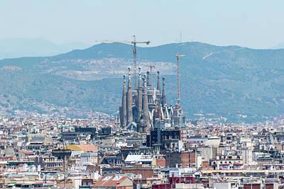 Photograph - Sagrada Familia 2 by Steven Richman