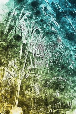 Painting - Sagrada Familia - 22 by Andrea Mazzocchetti