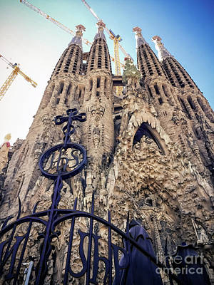 Photograph - Sagrada Familia by Colleen Kammerer