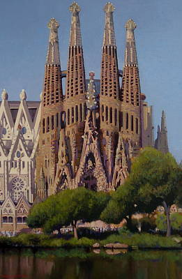 Painting - Sagrada Familia by Dianne Panarelli Miller