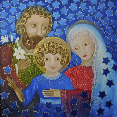 Painting - Sagrada Familia by Maria Matheus Maria Santeira
