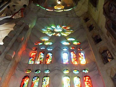 Sagrada Familia Art Print by Patrick Rabbat