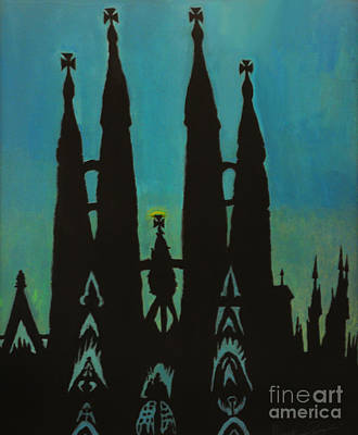 Painting - Sagrada Shadows by Mark Lopez