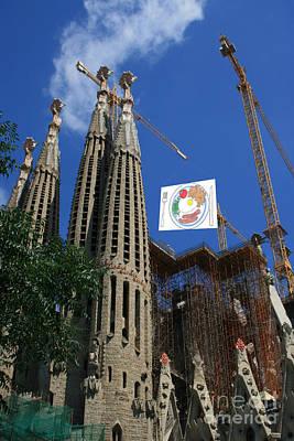 Barcelona Digital Art - Sagreda Project by Andy  Mercer