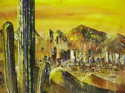 Saguaro Art Print by Chad Rice
