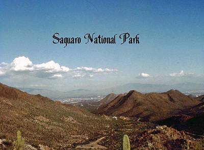 Photograph - Saguaro National Park by Gary Wonning