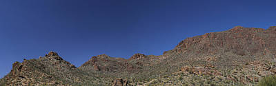 Photograph - Saguaro National Park Panorama 3 by Mary Bedy