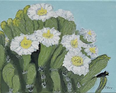 Painting - Saguaro Spring by Charla Van Vlack