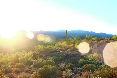 Photograph - Saguaro Sunset by Jon Emery