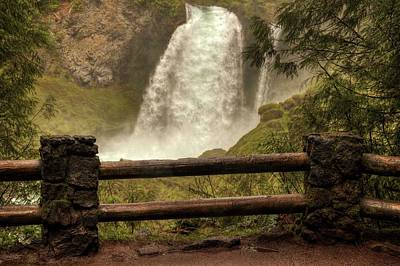 Photograph - Sahalie Falls by Hany J