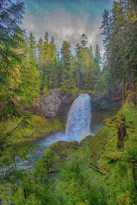 Photograph - Sahalie Falls by Patricia Dennis