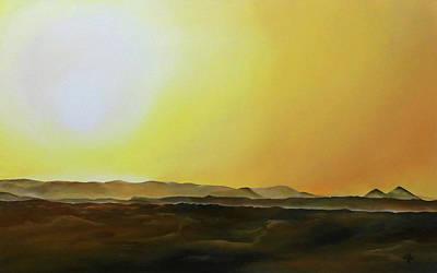 Painting - Sahara Desert - Merzouga, Morocco by Michelle Iglesias
