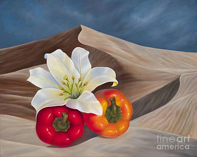 Painting - Sahara Fantasy by Birgit Seeger-Brooks