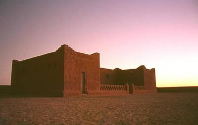Sahara House Art Print by David Halperin