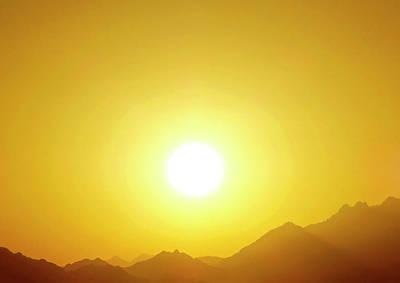 Photograph - Sahara Sunset 2 by Johanna Hurmerinta