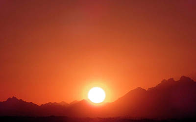 Photograph - Sahara Sunset by Johanna Hurmerinta