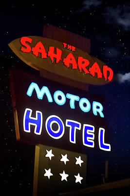 Photograph - Saharan Motor Hotel by Mark Andrew Thomas