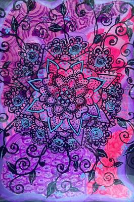 Sahasrara Chakra  Art Print by Anastasia Vodyasova