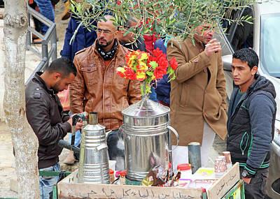 Photograph - Sahlab Milk Drink by Munir Alawi