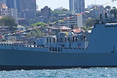 Photograph - Sahyadri Joints International Navy Fleet Review In Sydney by Miroslava Jurcik