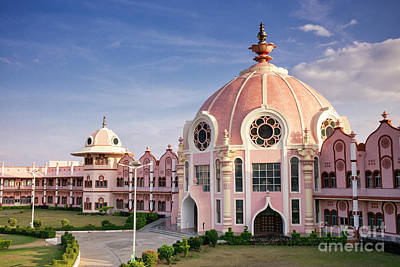 Photograph - Sai Baba Super Speciality Hospital Puttaparthi by Tim Gainey