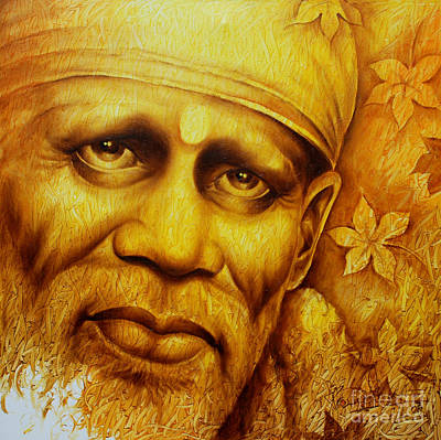 Sai Baba Painting - Sai Kripa by Prince Chand