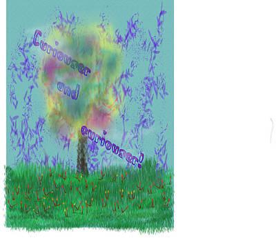 Digital Art - Said Alice by Jean Evans