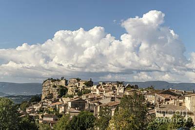 Photograph - Saignon Village Provence  by Juergen Held