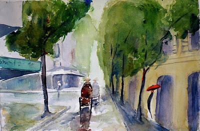 Painting - Saigon 1967 Tu Do Street by Tom Simmons
