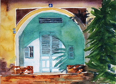 Painting - Saigon Villa1 by Tom Simmons