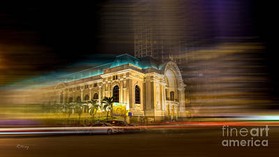 Photograph - Saigon's Opera House II by Rene Triay Photography
