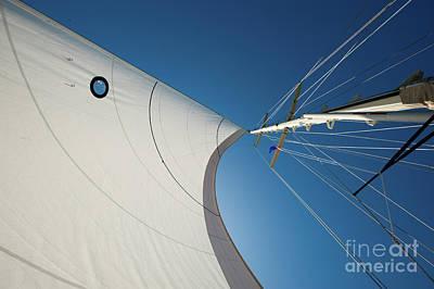 Photograph - Sail Abstract by Jason Brown