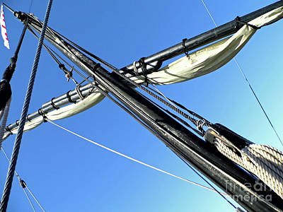 Photograph - Sail And Mast by D Hackett